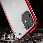 For iPhone 11 Pro Max Tempered Glass Magnet Flip Case | Mobile Phones for sale in Lagos State, Ikeja