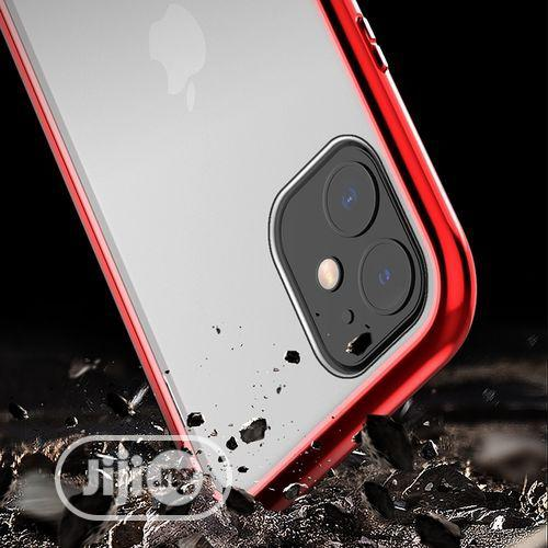 Archive: For iPhone 11 Pro Max Tempered Glass Magnet Flip Case