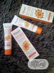 SPF-50 UVA/UVB Vitamin C Refreshing Whitening Sunscreen. | Skin Care for sale in Lagos State, Amuwo-Odofin