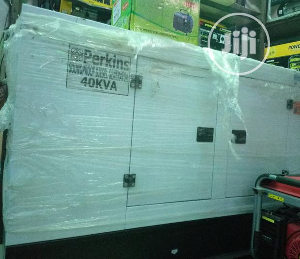 Perkins Sound Proof Generator 40kva