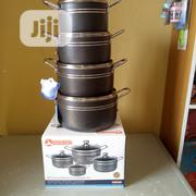 Masterchef 4 Sets Non Stick Pots | Kitchen & Dining for sale in Lagos State, Mushin