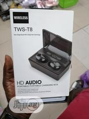 T8 Tws HD Audio Ear Bud | Headphones for sale in Lagos State, Ikeja