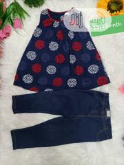 2in1 Kids Jean and Top for Your Beautiful Girls | Children's Clothing for sale in Lagos State, Lagos Mainland