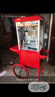 Pop Corn Machine With Cart   Restaurant & Catering Equipment for sale in Lagos State, Ojo