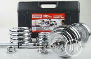30kg Dumbbell With Case | Sports Equipment for sale in Lagos State, Victoria Island