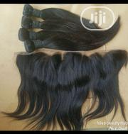 12 Inches Straight Hair With Frontal | Hair Beauty for sale in Abuja (FCT) State, Central Business District