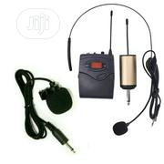 Rechargeable UHF Wireless Lapel/Tie-clip & Headset Microphones   Audio & Music Equipment for sale in Lagos State, Ikeja
