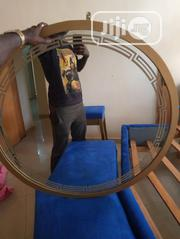 Dressing Mirror With Golden Frame | Home Accessories for sale in Lagos State, Ajah