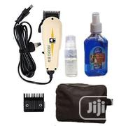 White Chaoba Clipper With Bag and Aftershave | Tools & Accessories for sale in Lagos State, Lagos Mainland