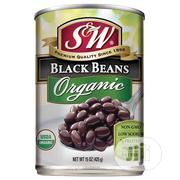 S&W® Organic Black Beans 425g | Meals & Drinks for sale in Lagos State, Ikoyi