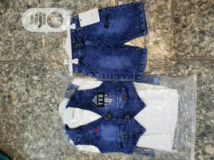 3in1 Set Jeans for Your Baby Boy. Ranging From 1 to 5yrs Old.
