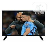 Luxor 22 Inchs LED Full HD TV Black Slim Perfict Picture | TV & DVD Equipment for sale in Delta State, Patani