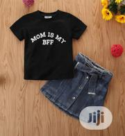 Top And Denim Skirt | Children's Clothing for sale in Delta State, Aniocha South
