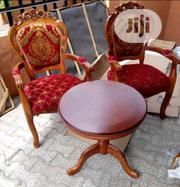 This Quality Pure Wooden Console 2chairs and 1table | Furniture for sale in Lagos State, Ojo
