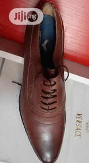 Mens Brown Leather Shoe | Shoes for sale in Lagos State, Ifako-Ijaiye