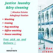 Justice Laundry And Dry Cleaning Services | Cleaning Services for sale in Oyo State, Ibadan North East