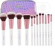 Bh Crystal Quartz 12 Piece Brush Set With Case | Makeup for sale in Lagos State, Amuwo-Odofin