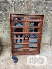 Wood Finishing Casement Windows With Burglary And Net   Windows for sale in Lagos State, Lagos Mainland