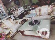 Quality Imported Fabric Sofa With Center Table | Furniture for sale in Lagos State, Ojo