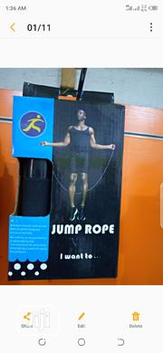 Skipping Rope   Sports Equipment for sale in Lagos State, Lekki Phase 2