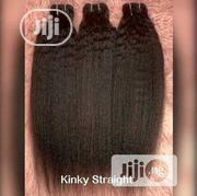 18 Inches Kinky Straight 3 Bundles +CLOSURE | Hair Beauty for sale in Lagos State, Orile