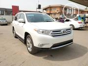 Toyota Highlander Limited 3.5l 4WD 2013 White | Cars for sale in Lagos State, Lekki Phase 1
