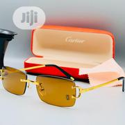 Cartier Gold Men's Eyes Glass | Clothing Accessories for sale in Lagos State, Lagos Island