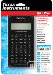 Texas Instruments BA II Plus Professional Financial Calculator | Stationery for sale in Lagos State, Gbagada