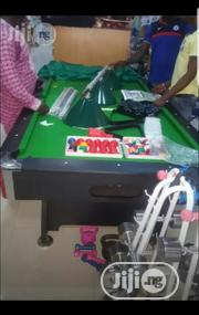 8ft Snooker Board With Complete Accessories | Sports Equipment for sale in Lagos State, Ajah