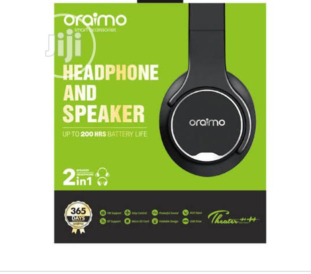 Archive: Oraimo 2in1 Headphone And Speaker