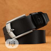 Fashion Unisex Genuine Leather Belt - Black. | Clothing Accessories for sale in Lagos State, Shomolu