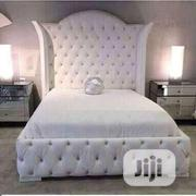 Leather 6 By 6 Bed Frame | Furniture for sale in Lagos State, Ajah