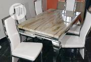 High Quality Six Seater Marble Dining Table   Furniture for sale in Lagos State, Ikeja