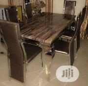 New High Quality Six Seater Marble Dining Table   Furniture for sale in Lagos State, Ikeja