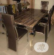 New Smart Six Seater Marble Dining Table   Furniture for sale in Lagos State, Amuwo-Odofin