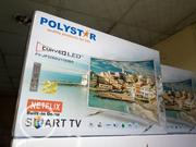 "Polystar Curved LED 32"" Smart TV 