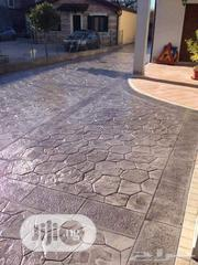 Concrete Stamp Floor For Good Service   Landscaping & Gardening Services for sale in Lagos State, Lekki Phase 1