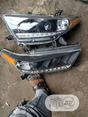 Highlander Headligh Yahoo Dark Face Model | Vehicle Parts & Accessories for sale in Lagos State, Ikeja