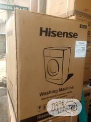 Hisense Front Loader 8KG Smart Control WM8012S Silver Colour | Home Appliances for sale in Lagos State, Ojo