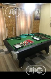 7ft Snooker Board With Complete Accessories | Sports Equipment for sale in Lagos State, Ajah