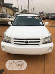 Toyota Highlander 2003 White | Cars for sale in Lagos State, Isolo