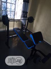 Weight Bench With 50kg Weights | Sports Equipment for sale in Lagos State, Surulere