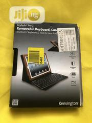 iPad 2,3&4 Keybord Case (Black Leather) | Accessories for Mobile Phones & Tablets for sale in Lagos State, Alimosho