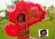 Bridal Umbrella And Fan For Sale.   Wedding Wear for sale in Lagos State, Ipaja