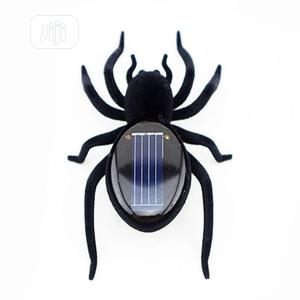 Novelty Creative Car Spider Gadget Solar Power Robot Insect Toy