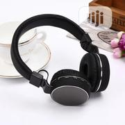 Sh12 Wireless Bluetooth Headset Stereo Headphone With Mic | Headphones for sale in Lagos State, Ikeja