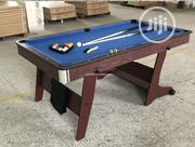 Foldable Hard Wood 6ft Snooker/Billard Table | Sports Equipment for sale in Lagos State, Surulere