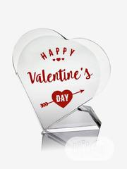 Valentine Acrylic Crystal Glass | Arts & Crafts for sale in Lagos State, Yaba