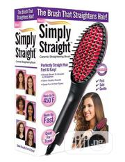 Hair Straightening Brush / Electric Hair Straighner | Tools & Accessories for sale in Lagos State, Ikeja