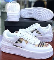Nike Air Force 1 With Burberry | Shoes for sale in Lagos State, Surulere